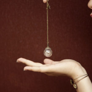 Μενταγιόν «Make a wish» (Σπόροι Dandelion)
