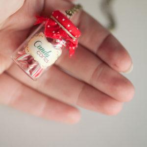 Μπουκάλι «Candy Canes»