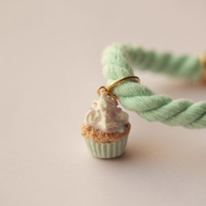 Bεραμάν Βραχιόλι με Cupcake