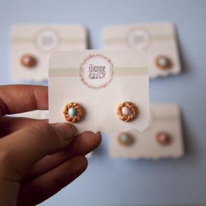 Σκουλαρίκια Γλυκά Τσουρεκάκια
