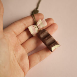 Kinder Chocolate Necklace