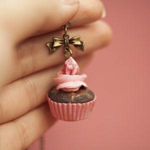 Cupcake Σοκολάτα – Φράουλα