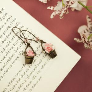 Σκουλαρίκια «Γλαστράκια»