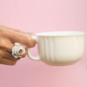 Cafe Au Lait Ring