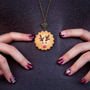 Rudolph Cookie Pendant