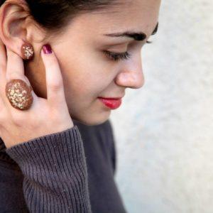 Σκουλαρίκια Μελομακάρονα