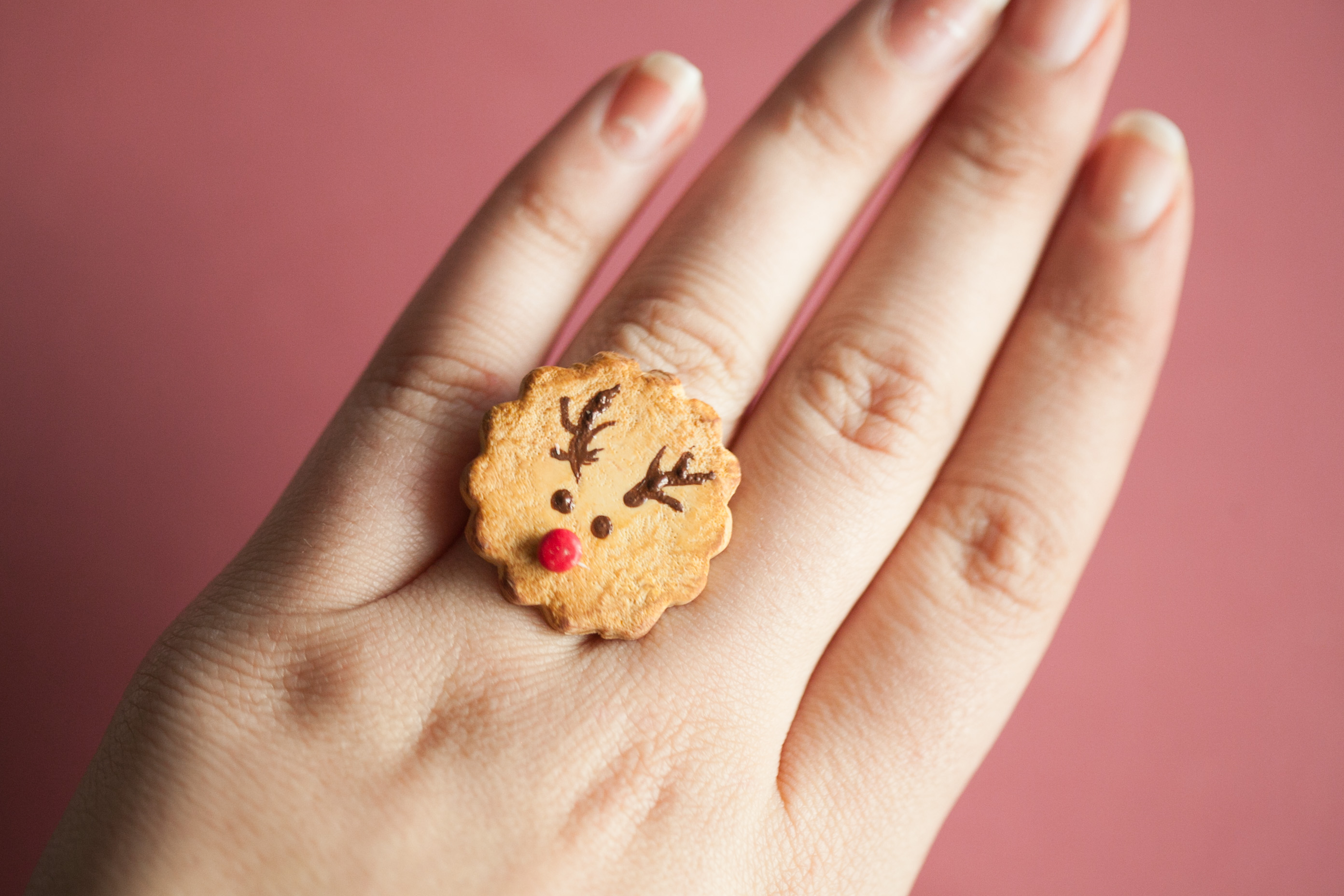 Rudolph Cookie Ring