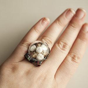 Δαχτυλίδι Πιατέλα Μελομακάρονα-Κουραμπιέδες