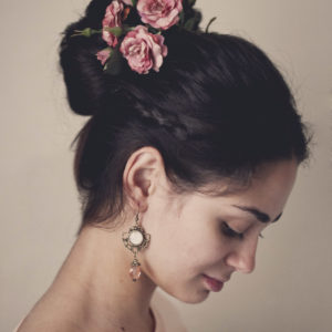Ρομαντικά Vintage Σκουλαρίκια