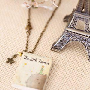 Κολιέ Βιβλίο «Μικρός Πρίγκηπας»