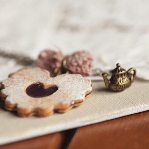 Μπισκότο Καρδιά με Φράουλα