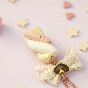 Κολιέ Ζαχαρωτό Marshmallow