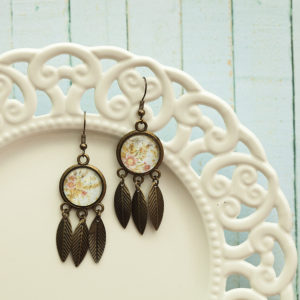 Σκουλαρίκια «Φτερά – Ονειροπαγίδες»