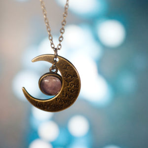Μενταγιόν «To the moon and back»