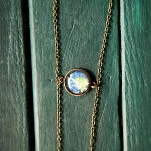 Μενταγιόν «Γη & Σελήνη»