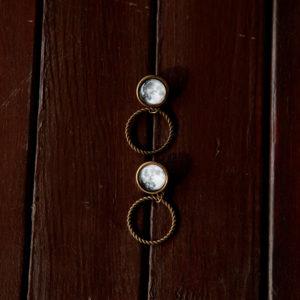 Σκουλαρίκια «Τροχιά της Σελήνης»